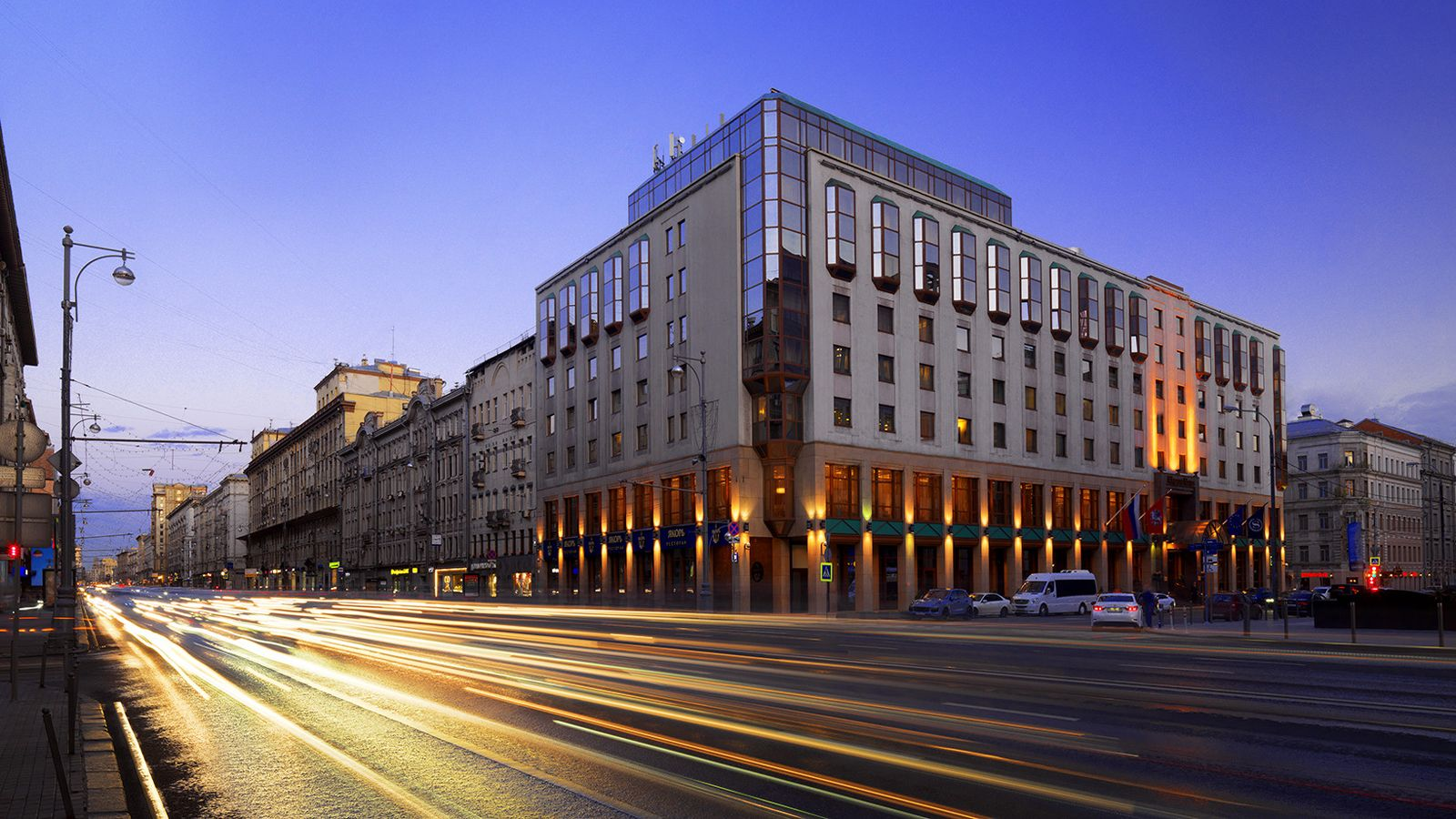 Sheraton Palace Hotel Moscow(pris inkl. flyg)
