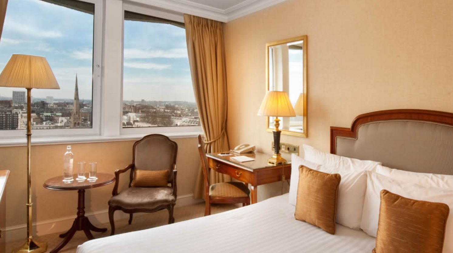 Hotel Lancaster London enkelrum(20-23 apr)