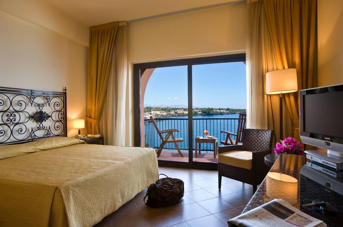 Hotel Santa Tecla Palace dubbelrum med havsutsikt(28 okt-5 nov)