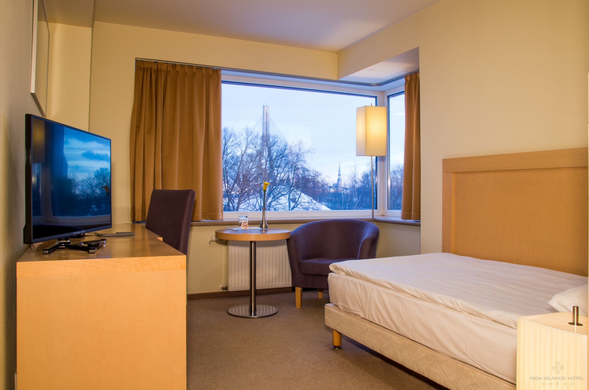 Riga Islande Hotel enkelrum(5-12 juli)