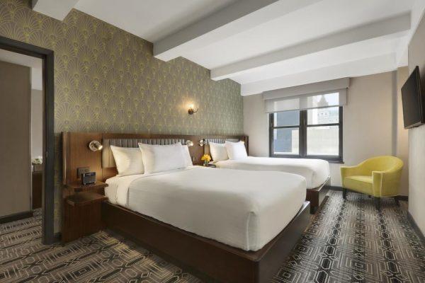 Hotel Edison twinrum(31okt-4nov)